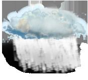 Períodos de chuva fraca